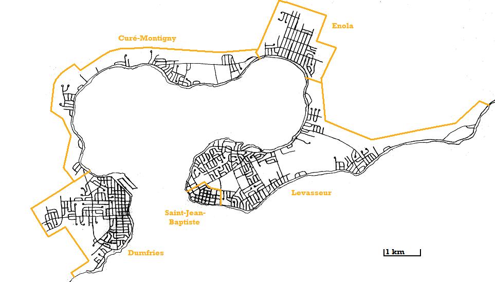 Cartes du West New Holland Municipalit-s-districts-27d74d3