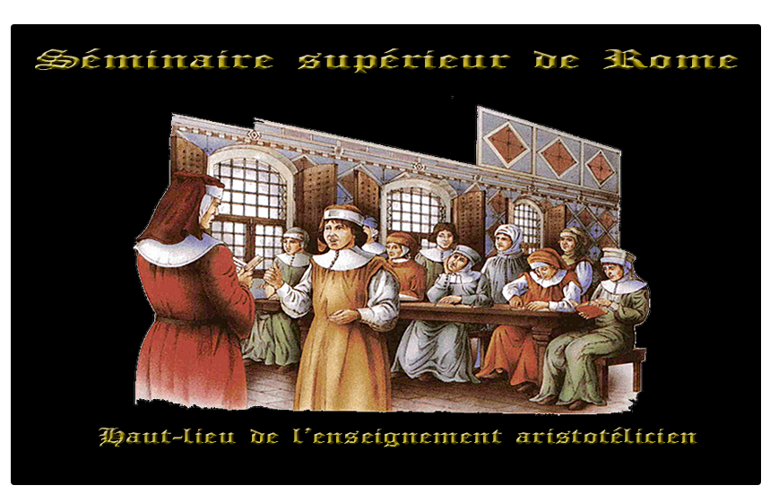Vita de Christos : Chapitre V Fronton-s-minaire-de-rome-26daa03