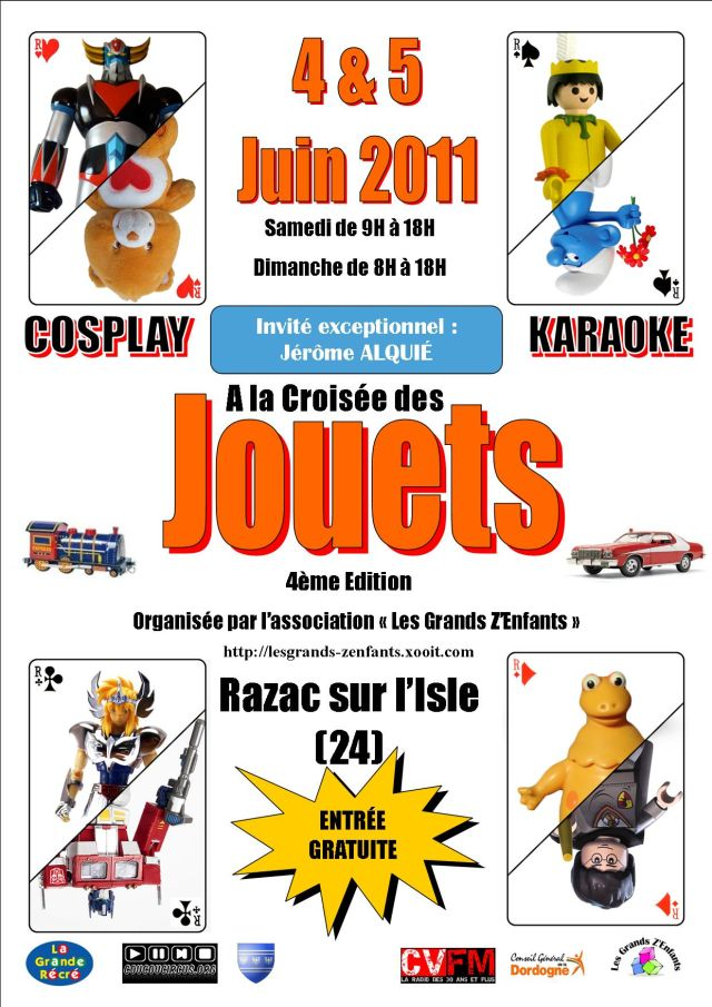 4ème salon du jouet Razac 04 et 05 juin 2011 LGZ Affiche-a-la-croi...omotive4-2552a2c